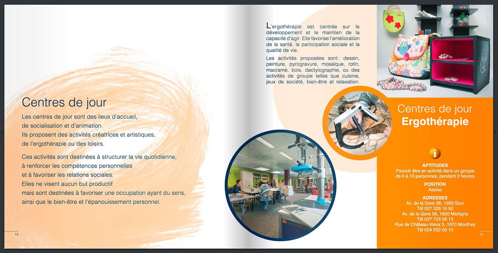 3 - Anne Catherine Franzetti atelier de graphisme : logotypes, affiches, édition, signalétique, cartes de visite, prospectus, packaging, valais martigny - cat atelier