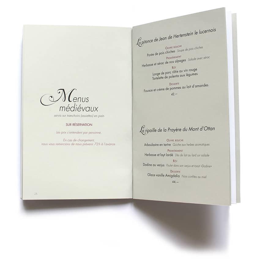 Bâtiaz_4 - Anne Catherine Franzetti atelier de graphisme : logotypes, affiches, édition, signalétique, cartes de visite, prospectus, packaging, valais martigny - cat atelier