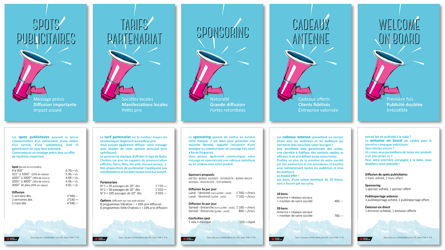CARTES_1 - Anne Catherine Franzetti atelier de graphisme : logotypes, affiches, édition, signalétique, cartes de visite, prospectus, packaging, valais martigny - cat atelier
