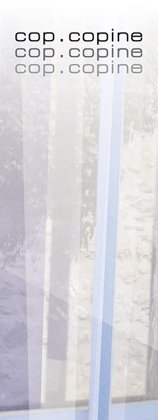 Toile_Cop - Catherine Franzetti atelier de graphisme : logotypes, affiches, édition, signalétique, cartes de visite, prospectus, packaging, valais martigny - cat atelier