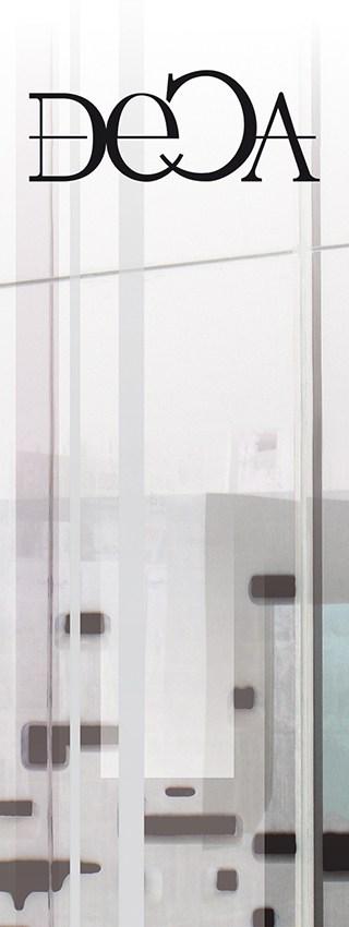 Toile_Deca - Catherine Franzetti atelier de graphisme : logotypes, affiches, édition, signalétique, cartes de visite, prospectus, packaging, valais martigny - cat atelier
