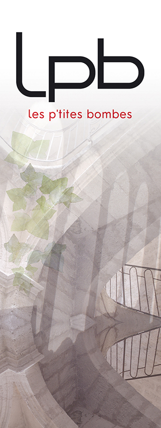 Toile_LPB - Catherine Franzetti atelier de graphisme : logotypes, affiches, édition, signalétique, cartes de visite, prospectus, packaging, valais martigny - cat atelier