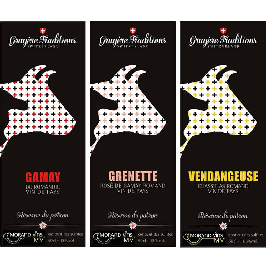 Vin_1 - Anne Catherine Franzetti atelier de graphisme : logotypes, affiches, édition, signalétique, cartes de visite, prospectus, packaging, valais martigny - cat atelier