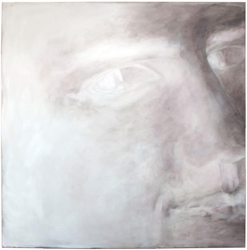 140x140 cm  -  De la nuict vist le jour et non realement  -  Ronsard
