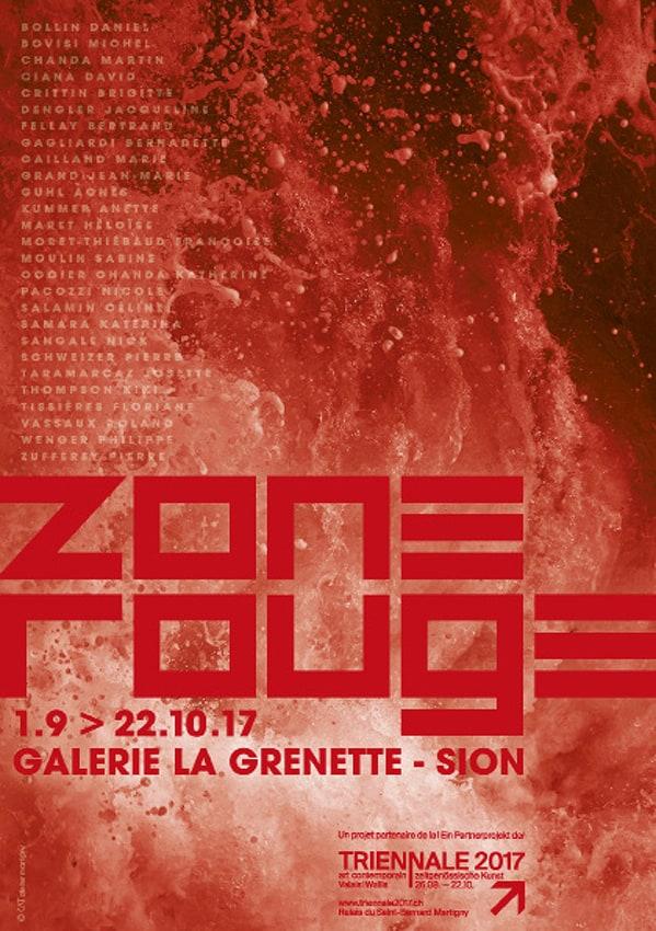 Zone_Rouge_2017 - Anne Catherine Franzetti atelier de graphisme : logotypes, affiches, édition, signalétique, cartes de visite, prospectus, packaging, valais martigny - cat atelier